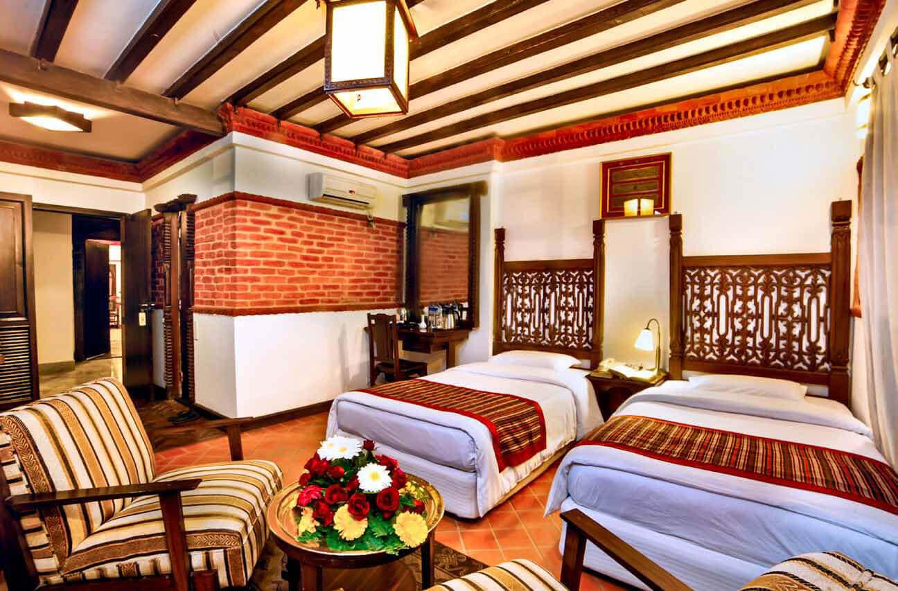 Hotel manaslu since 1972 for Room design in nepal