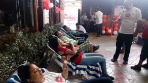 Blood donation 2016 participants